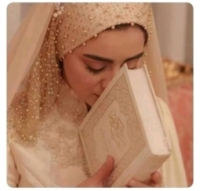 girl kiss quran
