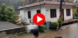 house fall down